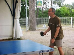 Gégé au ping pong